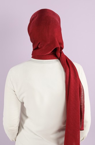 Dark Claret Red Sjaal 90716-18