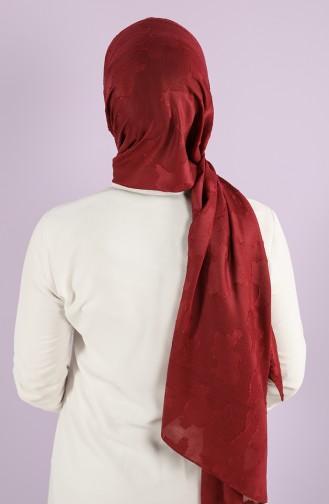 Claret Red Shawl 7718-09