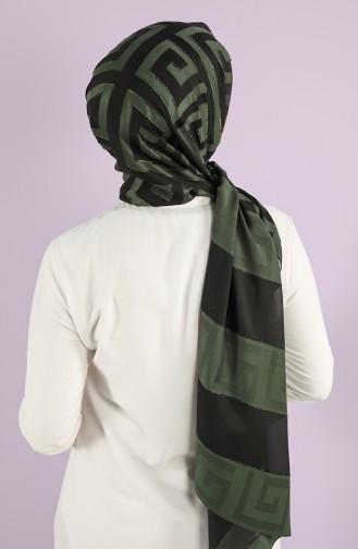 Châle Vert Millitaire 7719-08