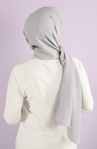 Silver Gray Shawl 54366-07