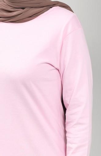 Cotton Tunic 3403h-01 Pink 3403H-01