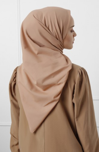 Natural Cotton Scarf 20-0009-04 Light Brown 20-0009-04