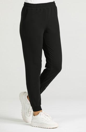 Sweatpants أسود 94578-02