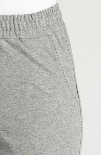Sweatpants رمادي 94578-07