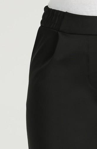 Pileli Pantolon 4339PNT-02 Siyah