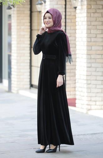 فستان أسود 3245-05