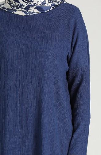 تونيك أزرق كحلي 1418-02