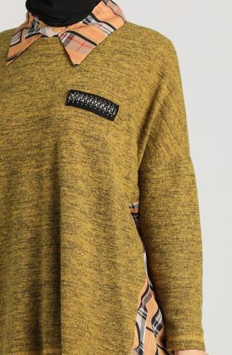 Garnish Asymmetric Tunic 9k6910800-04 Saffron Color 9K6910800-04