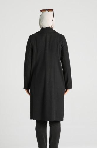 Schwarz Mantel 0303-01