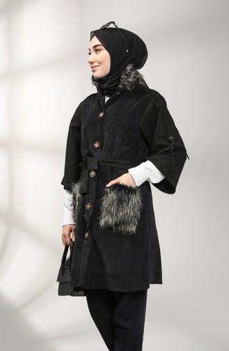 Schwarz Mantel 20K0008100-02