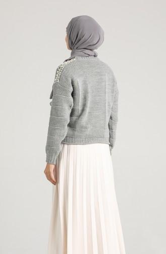 Grau Pullover 0617-08