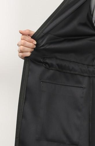 معطف أسود فاتح 2080-06