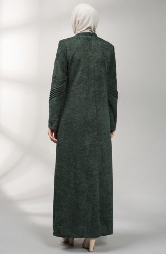 Pardessus Vert Foncé 0135-02