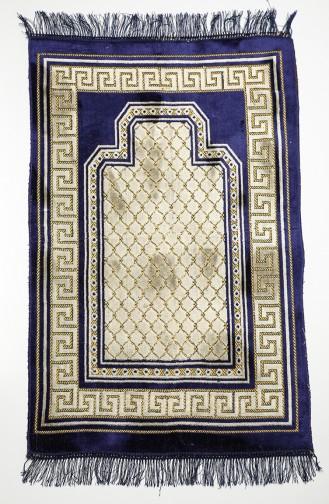 Tapis de Prière Bleu Marine 90620-03