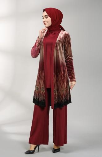 Claret Red Suit 8K6820100-01