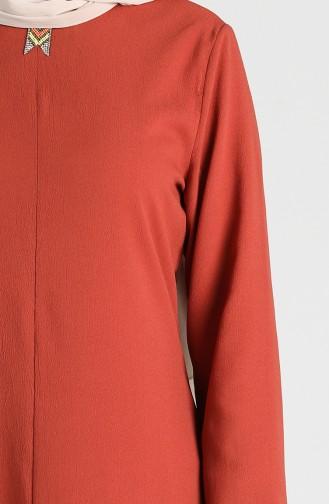 Long Tunic Trousers Double Suit 4001-04 Tile 4001-04