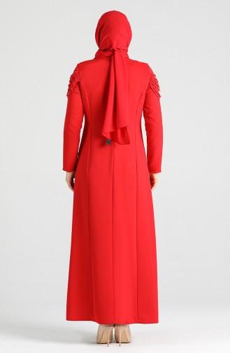 Red İslamitische Jurk 2134-09