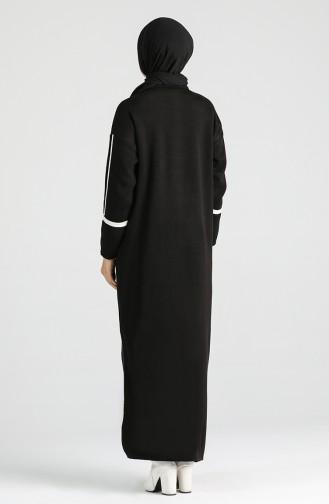 فستان أسود 2850-03