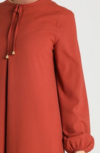 A Pile Elbise 8002-05 Kiremit