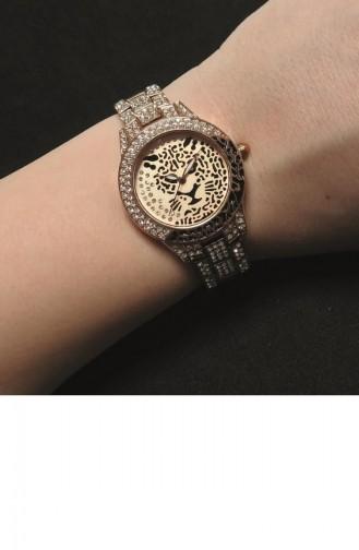 Rose Tan Wrist Watch 11171-05