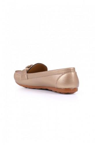 Chaussures de jour Or 1040200345