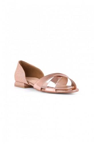 Rosa Haut Tägliche Schuhe 705.GULKURUSU