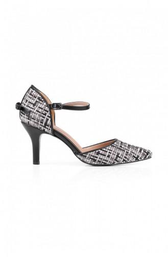 Black High Heels 704.SIYAH