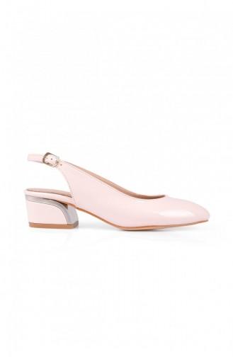 Chaussures a Talons Beige 696.BEJ