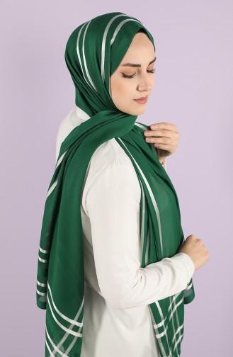 Châle Vert emeraude 13100-23