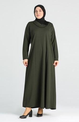 فستان كاكي 4756-03