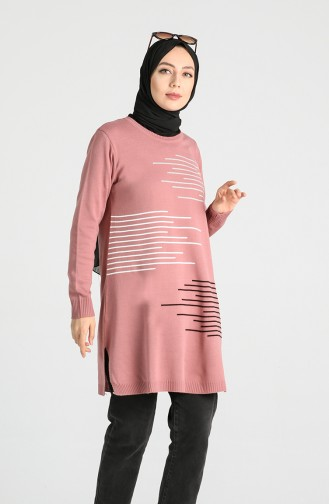 Knitwear Tunic 1294-03 Dried Rose 1294-03
