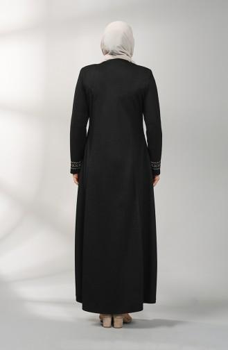 Black Abaya 2033-04