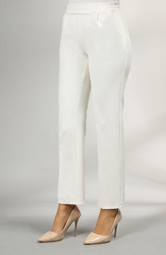 Pantalon Crème 4336PNT-03