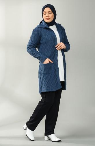 Navy Blue Broek 17204-01
