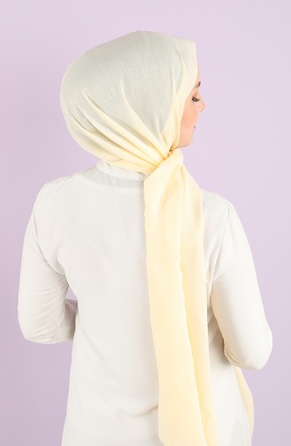 Dark Cream Sjaal 90725-16
