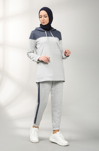Gray Trainingspak 3194-13