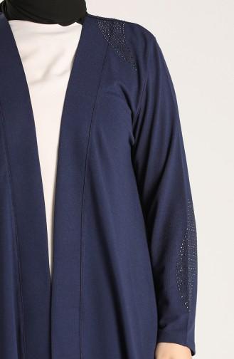 Navy Blue Cardigans 2117-01