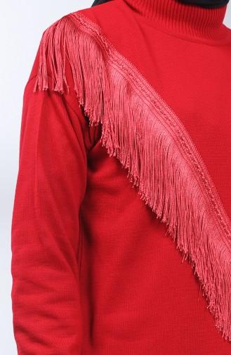Claret red Trui 2263-05