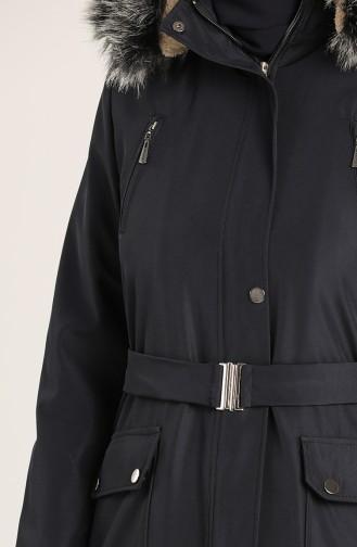 معطف أزرق كحلي 1003-04