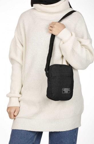 Black Shoulder Bag 23-01