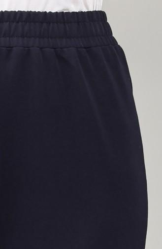 Pantalon Bleu Marine 4359PNT-01