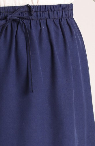 Dark Navy Blue Rok 4361ETEK-02