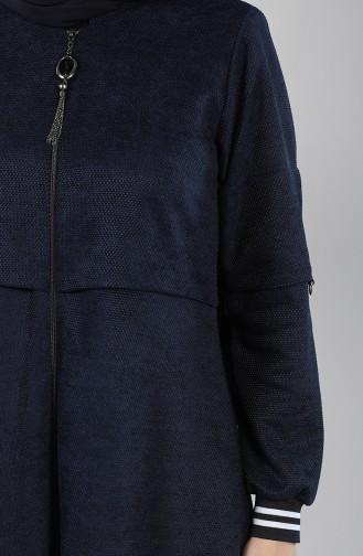 Abayas Bleu Marine 0131-05