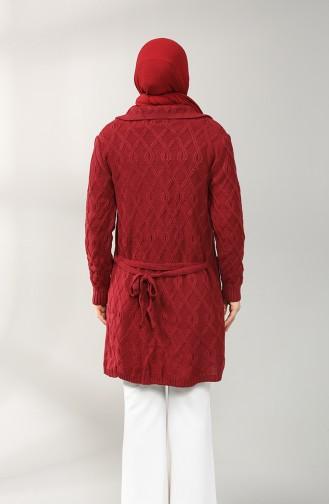 Claret red Vest 7002-10