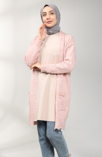 Puder Strickjacke 9118-04