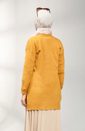 كارديجان أصفر خردل 9118-07