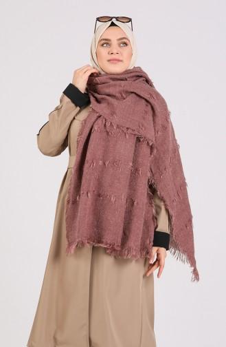 Beige-Rose Poncho 43500-10