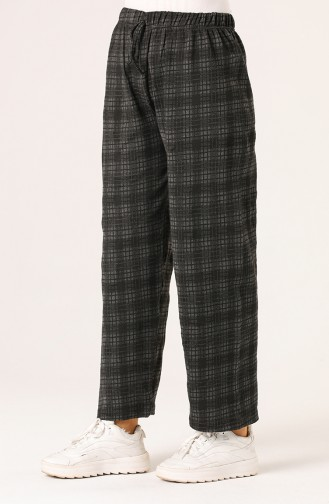 Checkered winter Pants 8153-01 Smoked 8153-01