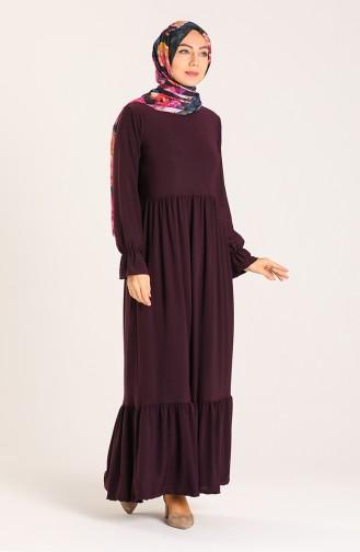 Pleated Dress 1938-03 Purple 1938-03