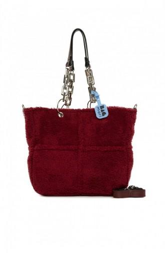 Claret Red Shoulder Bags 8682166063451
